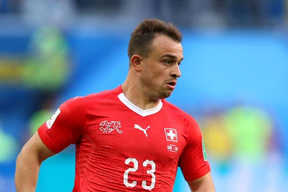 Official Liverpool Sign Switzerland Star Shaqiri