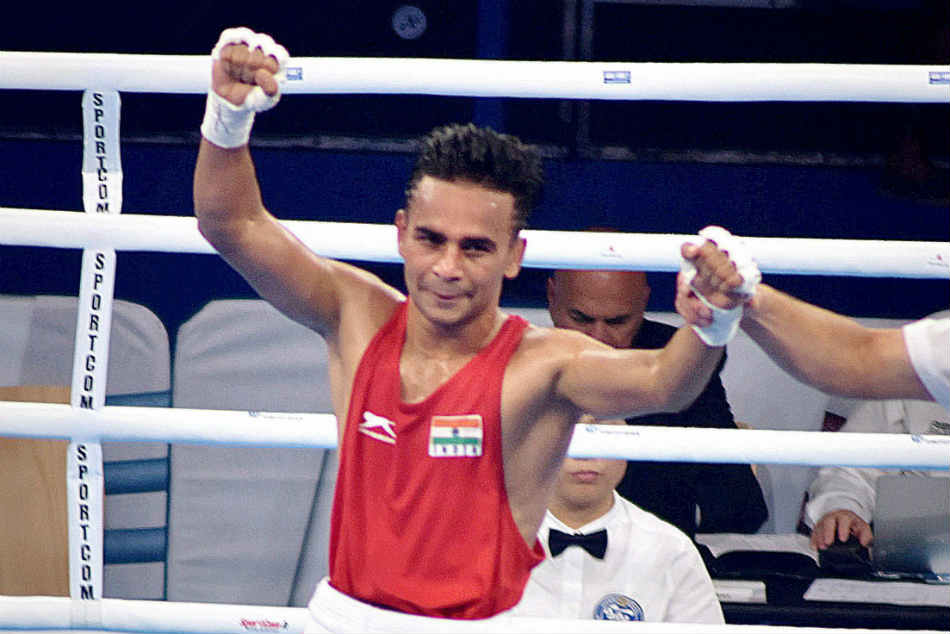 Asian Games 2018 Amit Panghal Enters Final In The 49kg