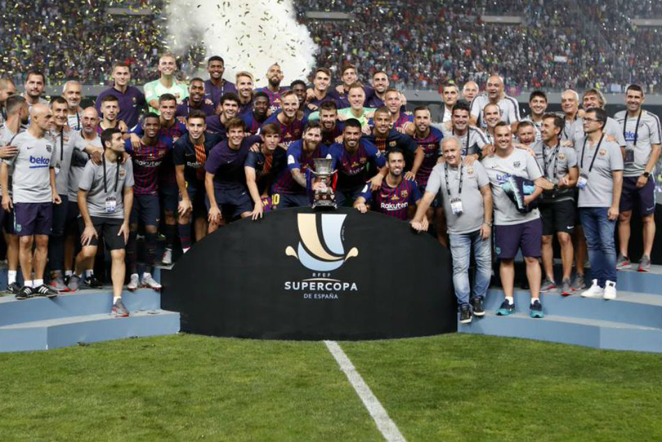 Record 13th Spanish Super Cup Title Barcelona