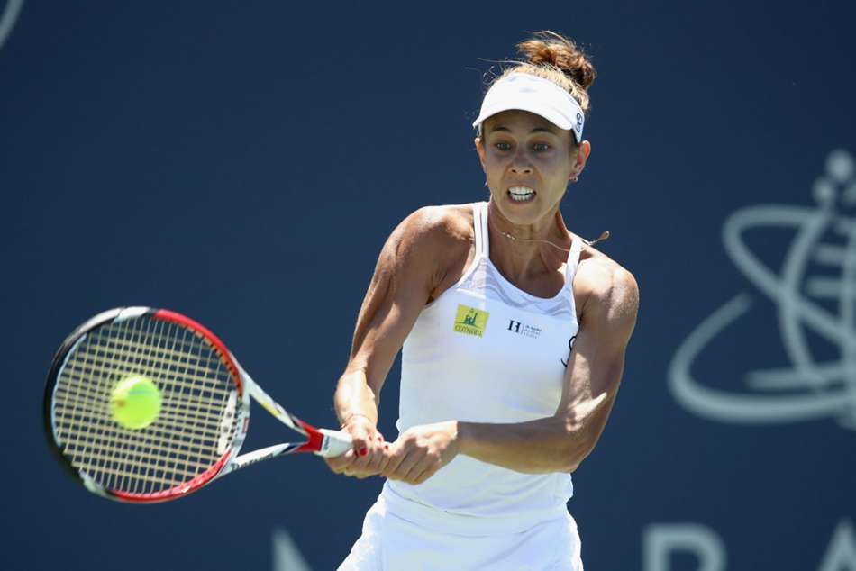 Mihaela Buzarnescu won her first WTA singles title