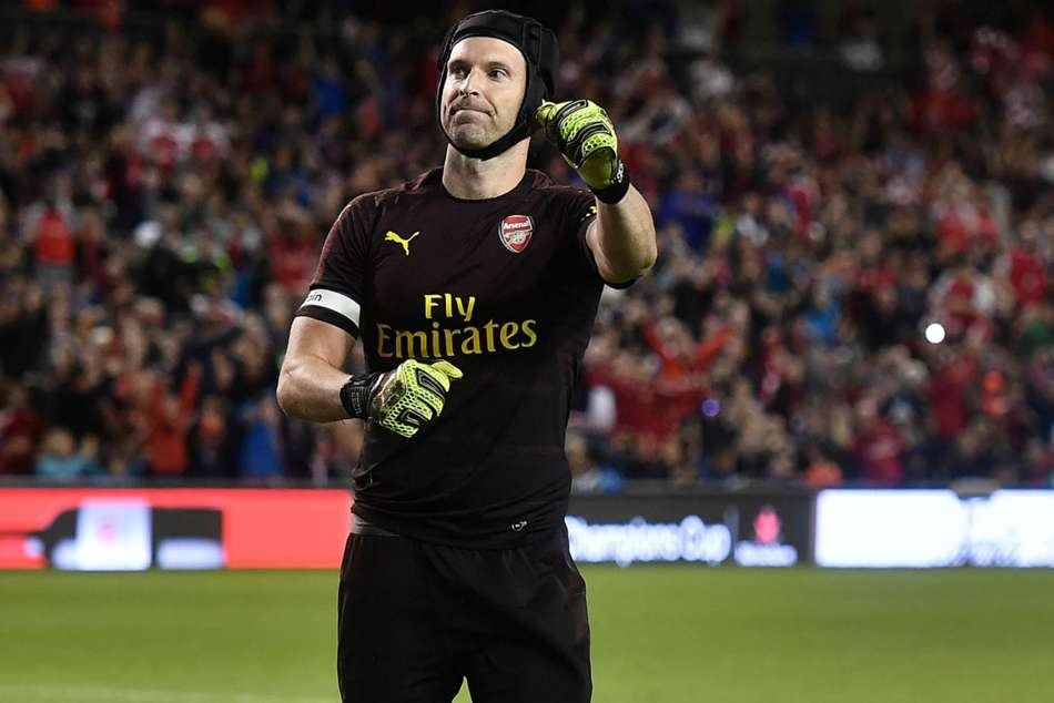 Petr Cech Arsenal Bernd Leno Premier League Bundesliga Bayer Leverkusen