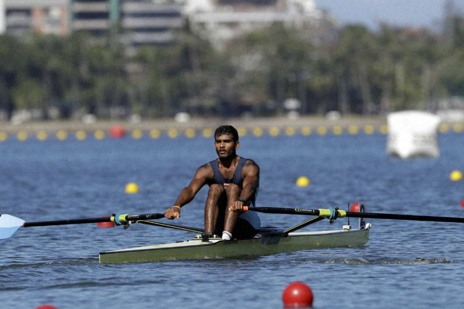 Indian rower Dattu Baban Bhokanal