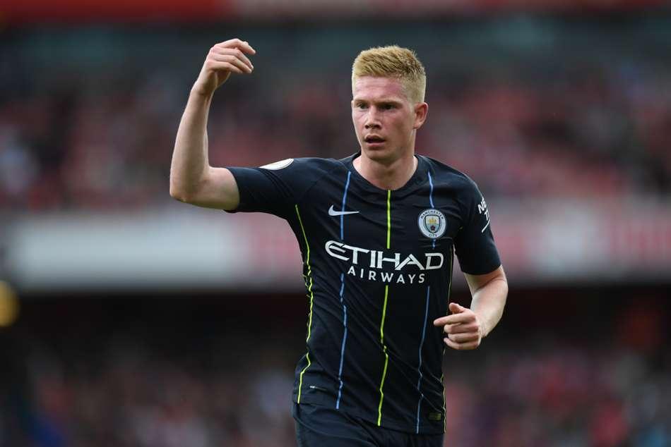 Kevin De Bruyne Manchester City Knee Injury Premier League