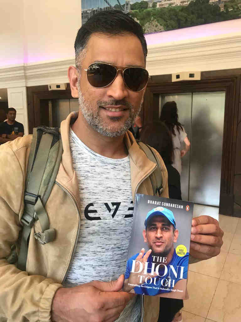 The Dhoni Touch gives a different picture of MS Dhoni - the man behind the superstar cricketer