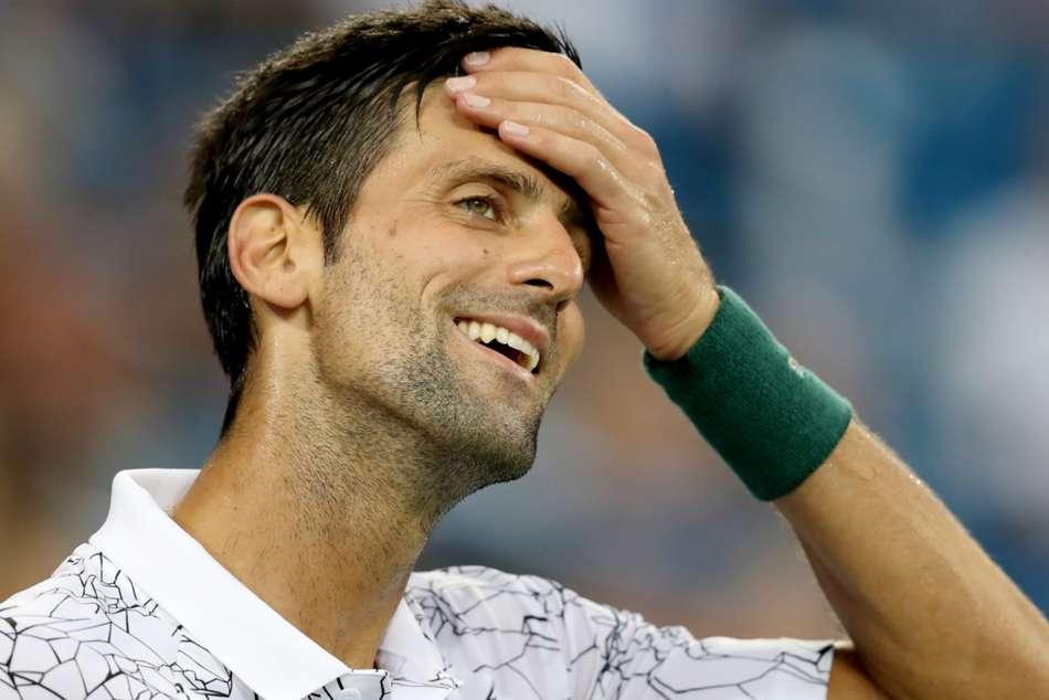 Djokovic Dimitrov Poised As Rain Wreaks Havoc Del Potro Through