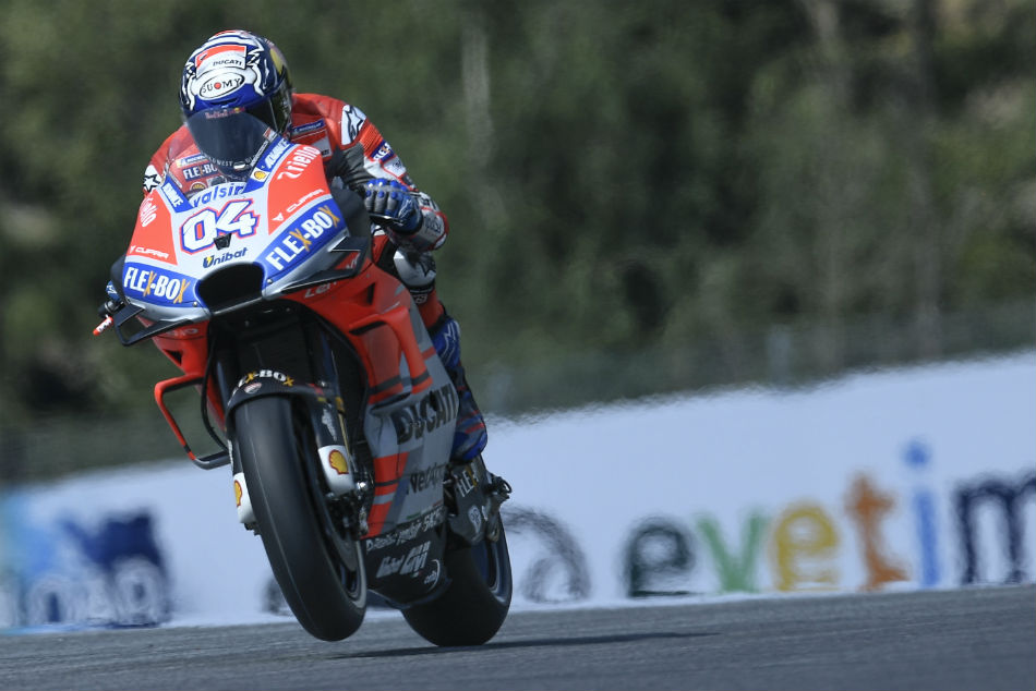 Dovizioso Is The Fastest Practice Session Austria