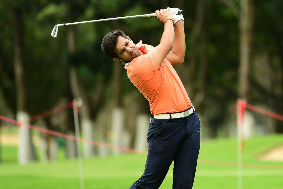 Feroz Singh Garewal ended the first day as the highest-placed Indian at tied-2nd. Credit: Press Release