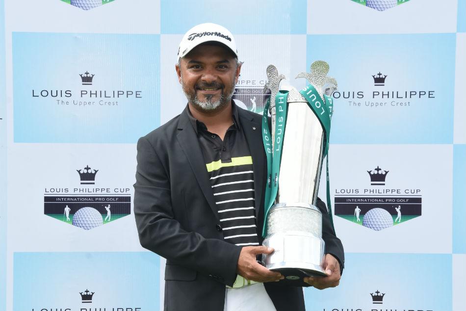 Louis Philippe Cup Gangjee Equals Course Record En Route Vi