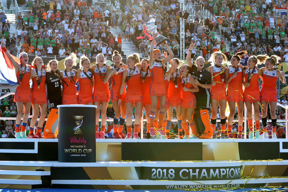 The Dutch women won their eighth World Cup crown