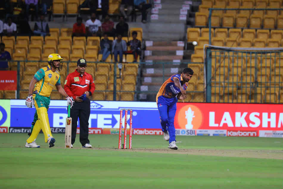 Kpl 2018 Mahesh Patel Mohd Taha Guide Hubli Tigers To Four Wicket Win Over Bijapur Bulls