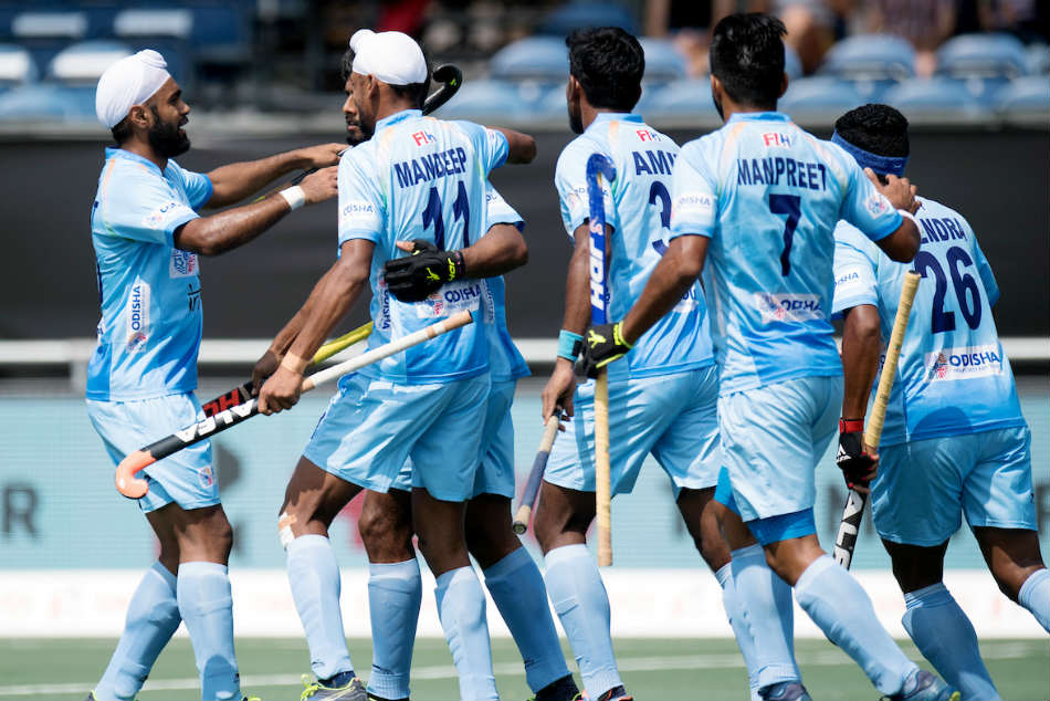 India Off Great Start Asian Games 2018 Hockey Event Beat Indonesia