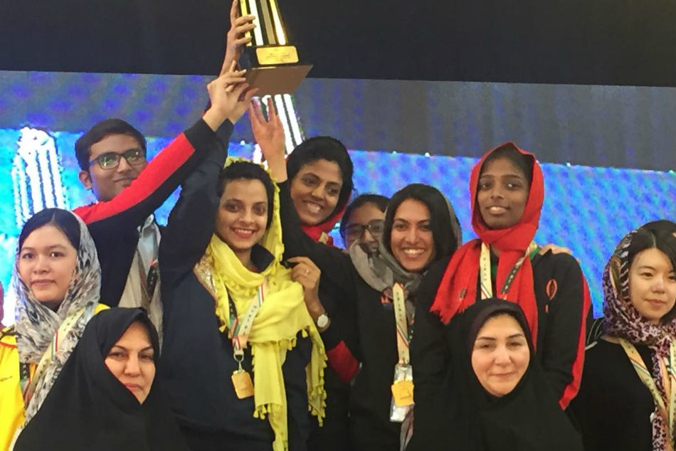 Indian Women S Chess Team Bags Gold Blitz Event Asian Nation Cup