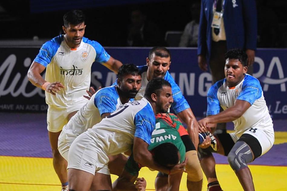 Gold Medallists Last 7 Editions Indian Men S Kabaddi Team Lose Iran Bronze