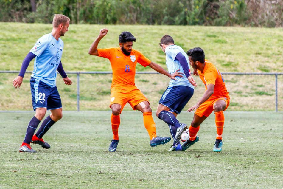 India U 23 Go Down Fighting A League Side Sydney Fc