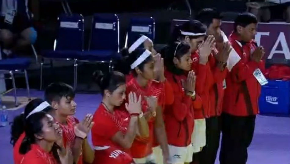Indian women crush Japan in kabaddi