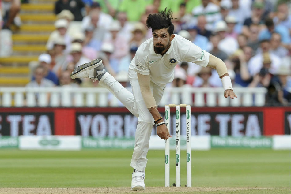 Ishant Sharma of India grabbed seven wickets during the first Test against England at Edgbaston