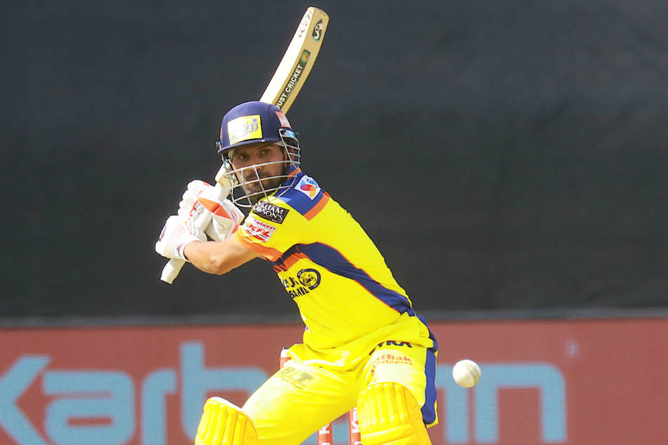 Shoaib Manager made a brisk fifty as Mysuru Warriors scrap past Belagavi Panthers in KPL 2018
