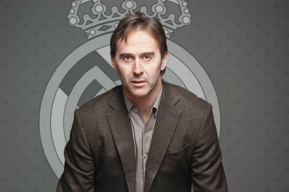 Real Madrid head coach Julen Lopetegui