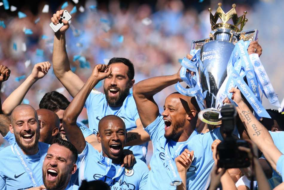 Pep Guardiolas side won the Premier League last season in a canter and finished with 100 points