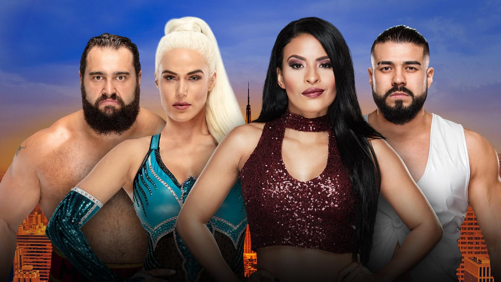 Mixed Tag Team Match Added To Wwe Summerslam Match Card