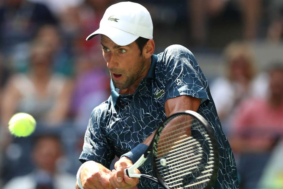 Us Open 2018 Djokovic Battles As Zverev Cilic Federer Cruise