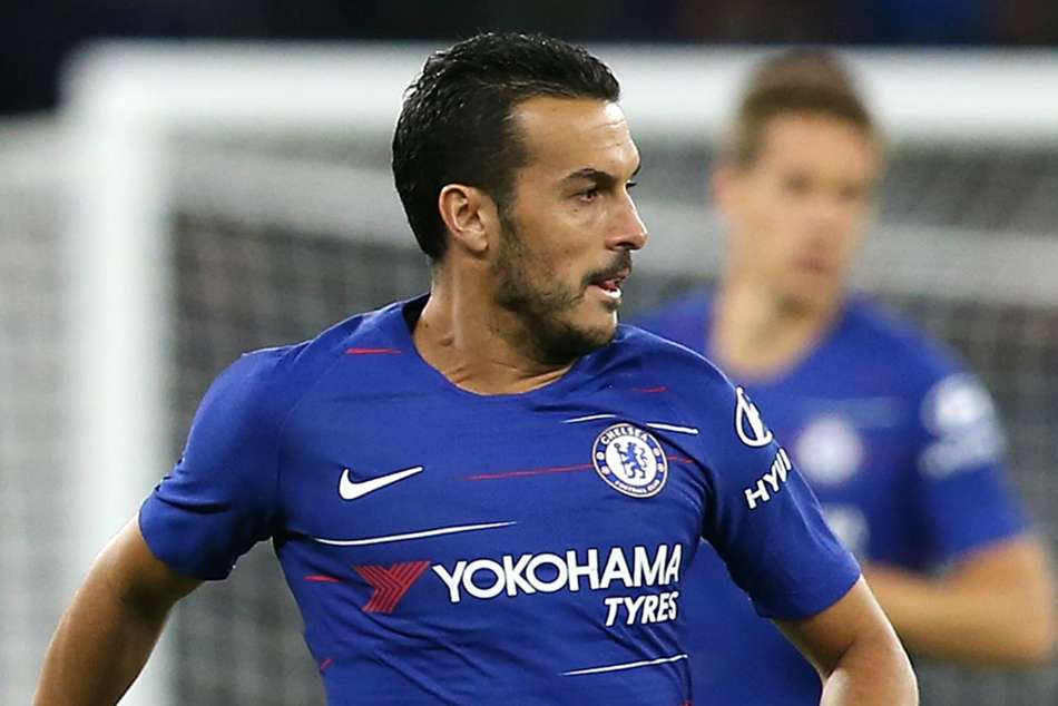 Chelsea and Spain winger Pedro