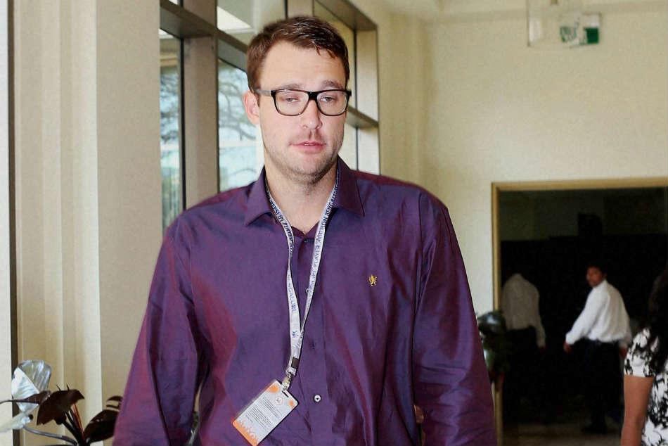 Rcb Sack Head Coach Daniel Vettori And Other Backroom Staff
