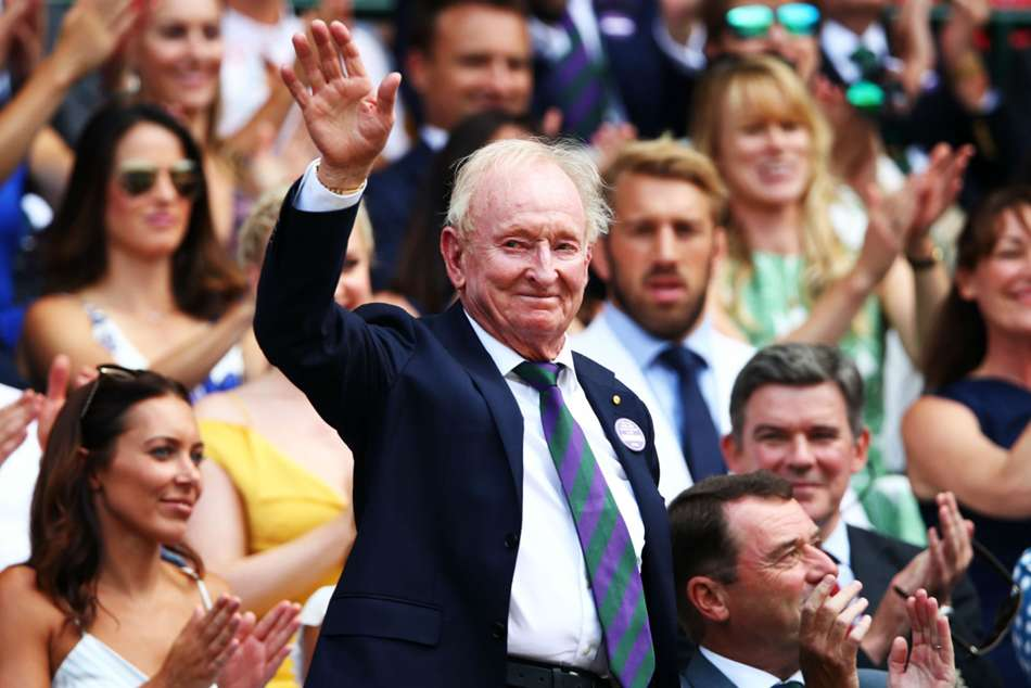 Cheers and beers to 80 years - Legendary Laver celebrates milestone birthday