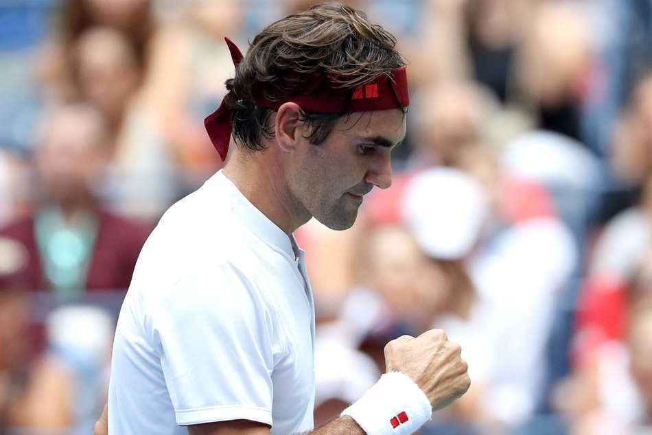 Roger Federer Beats Benoit Paire Us Open Nick Krygios