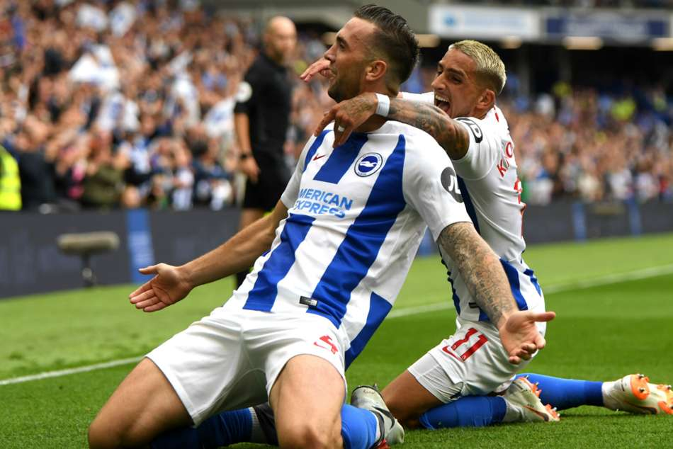 Brighton And Hove Albion 3 Manchester United 2 Match Report Glenn Murray Lifts Seagulls Jose Mourinho