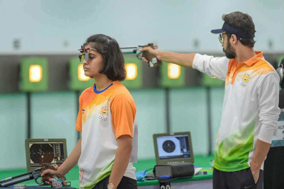 Asian Games 2018 Teenage Shooting Sensations Face Stiff Asiad Test