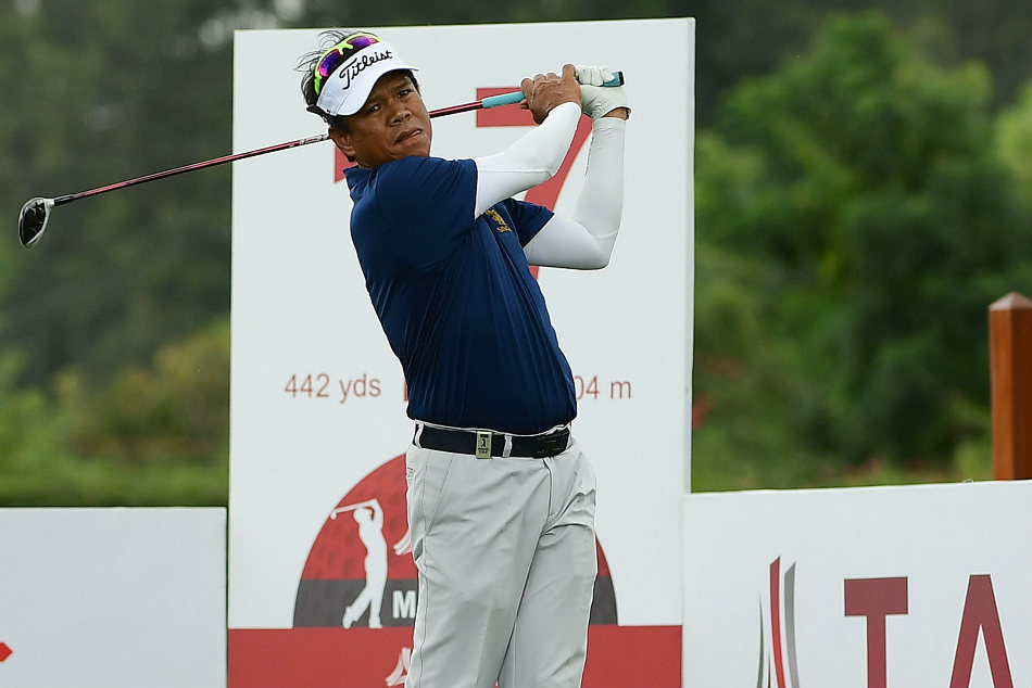 Thailand golfer Thammanoon Sriroj grabbed sole lead on the opening day at KGA