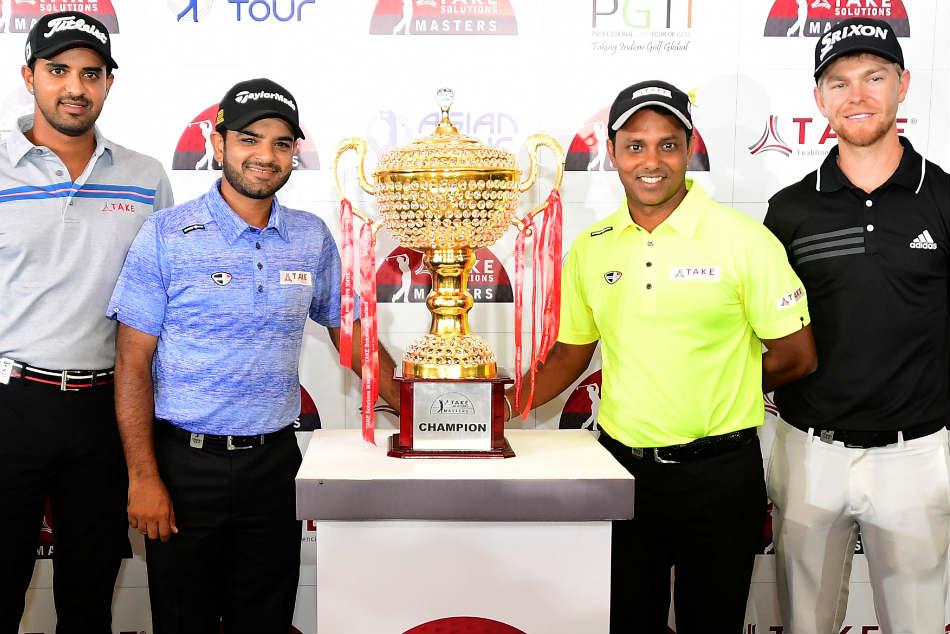 Take Solutions Masters 2018 Khalin Mane Lead Strong Indian Challenge At Kga