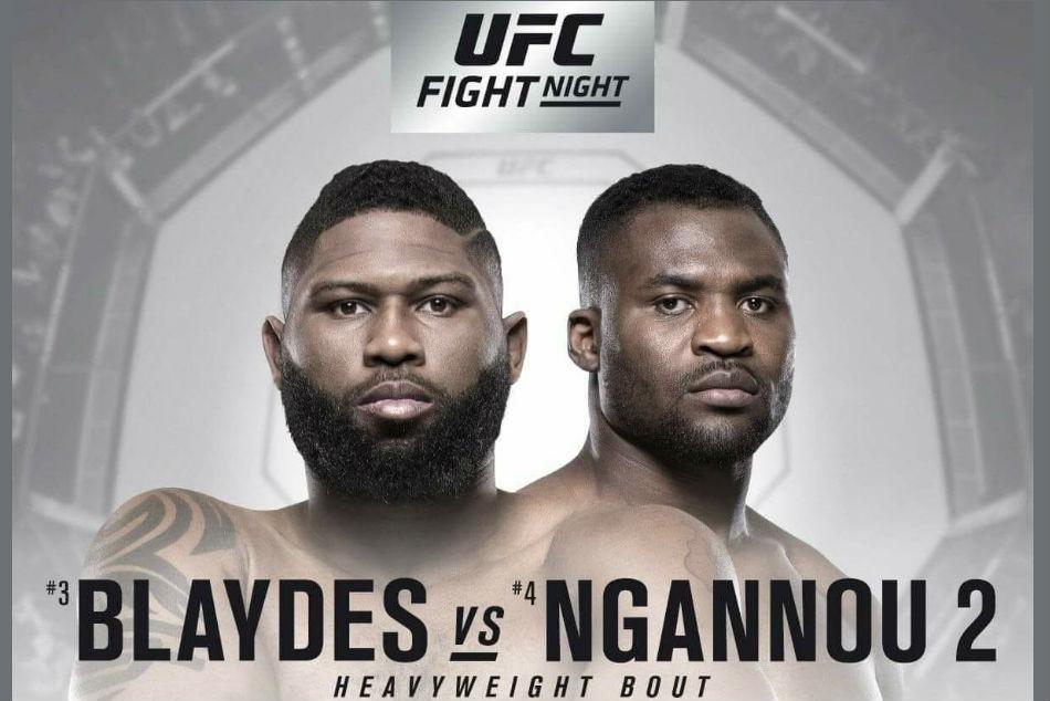 Ufc Fight Night Blaydes Vs Ngannou 2 Hits Fight Pass