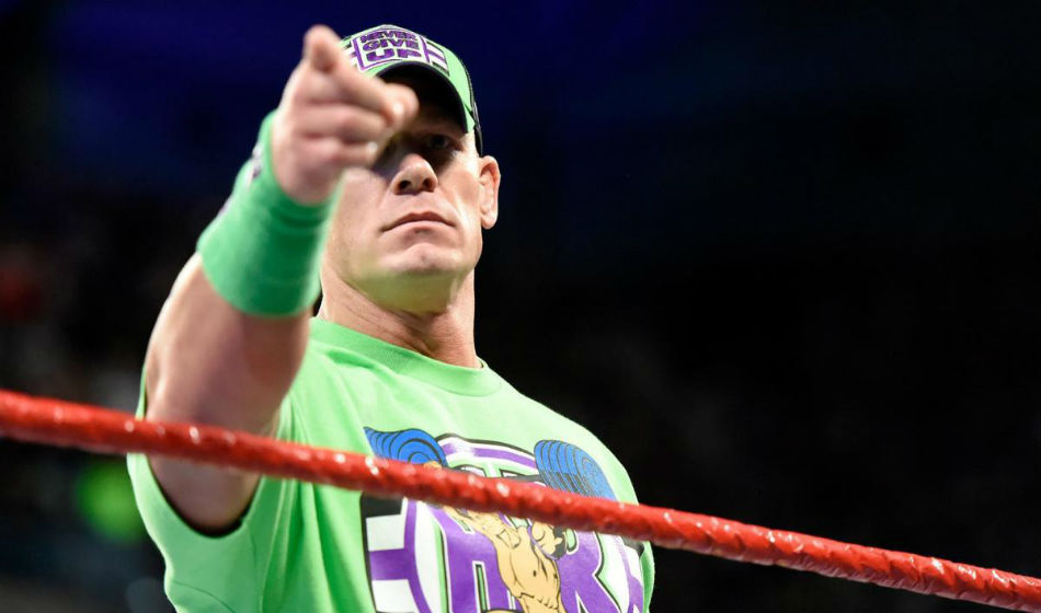 Wwe Confirms Huge Super Show Down Match John Cena