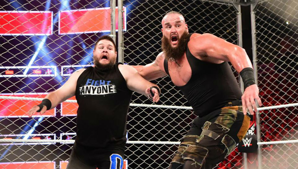 Owens (left) & Strowman (image courtesy WWE.com)