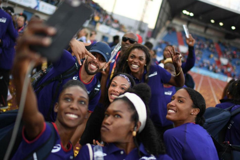 Team Americas Reign Supreme Iaaf Continental Cup