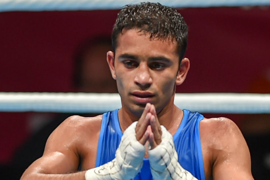 Asian Games 2018 Amit Outwits Olympic Champ Claim India S Only Boxing Gold At 18th Asiad