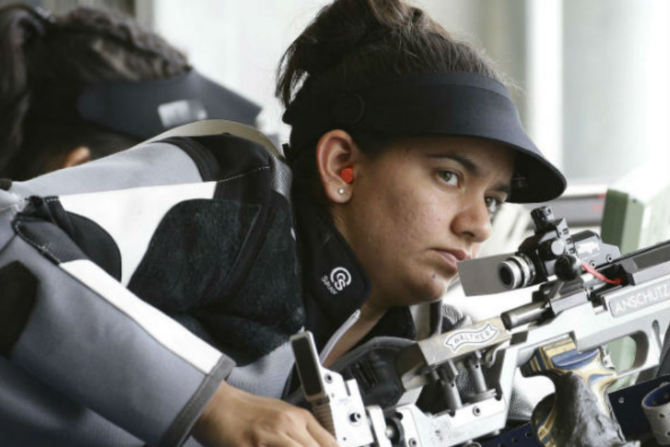 Anjum Moudgil secured a silver medal finish in the womens 10m air rifle event of the ISSF World Championship