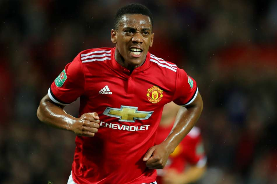 Anthony Martial, Manchester United winger