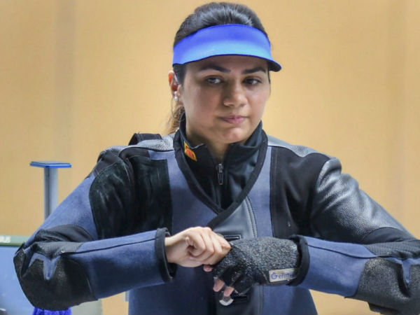 Apurvi Chandela finished fourth in the womens 10m air rifle event