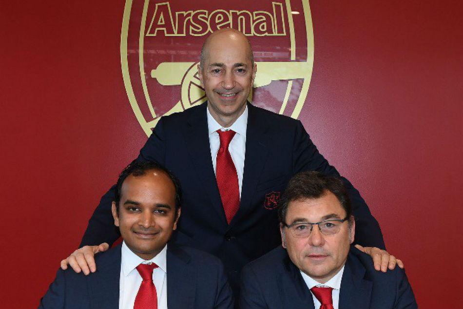 Arsenal Names New Office Bearers As Gazidis Heads Ac Milan