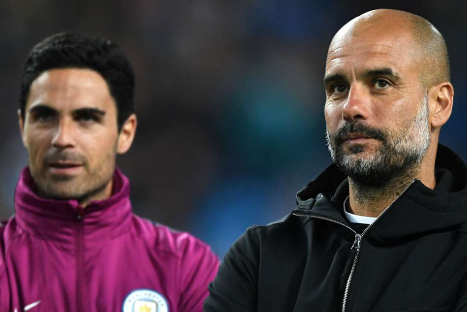 Mikel Arteta Arsenal Job Pep Guardiola Banned Manchester Champions League