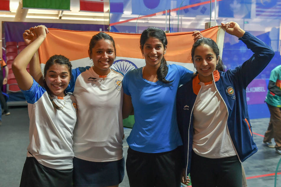 Asian Games 2018 Indian Women S Squash Team Loses Hong Kong Settles For Second Straight Silver