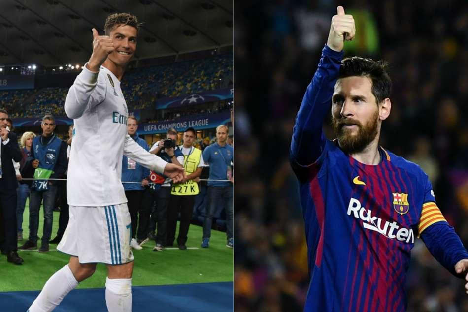 Lionel Messi Cristiano Ronaldo Fifa Fifpro World Xi