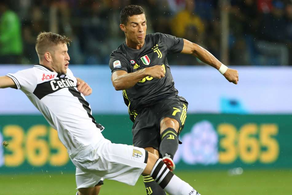 Parma 1 Juventus 2 Dogged Hosts Downed But Ronaldo S Wait G