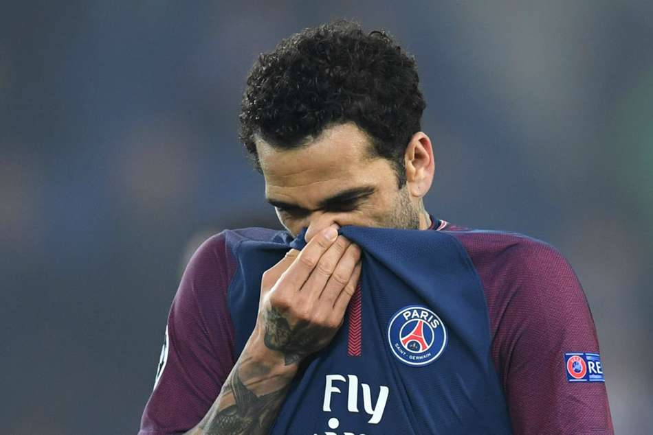 Dani Alves Psg Champions League Record