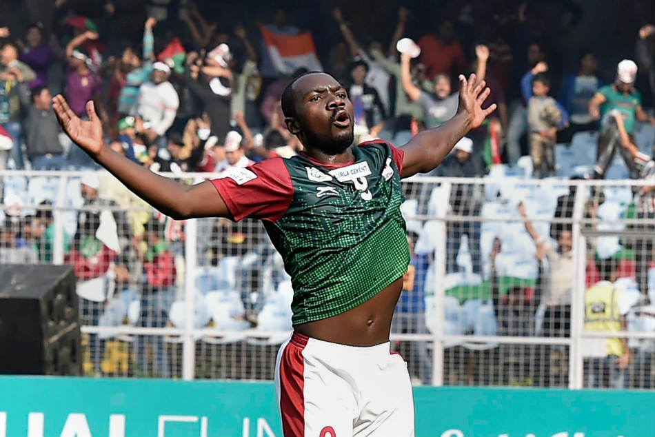 Calcutta Football League Henry Kisekka Brace Helps Mohun Bagan Cfl