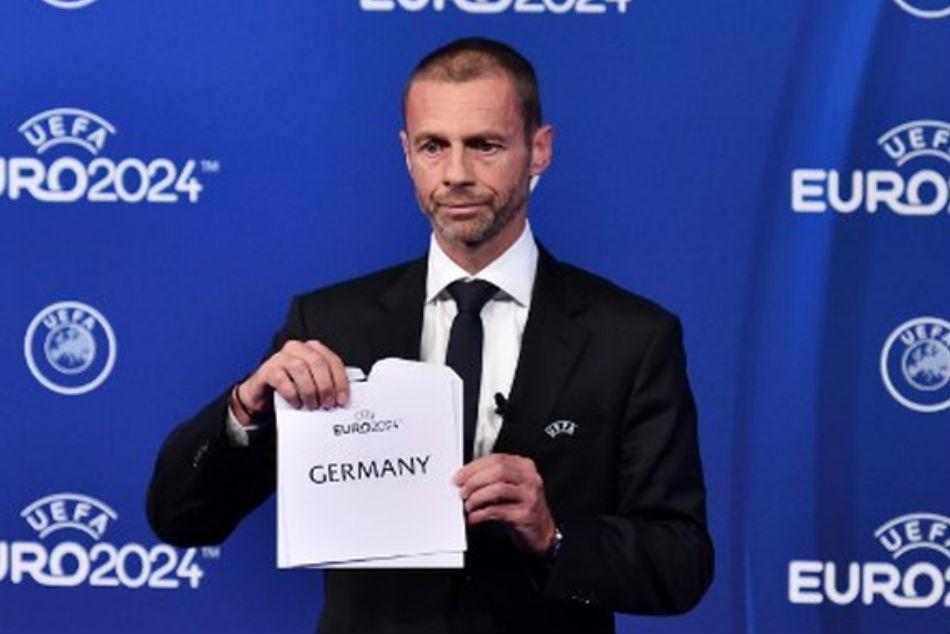 Germany Wins Race Host Euro
