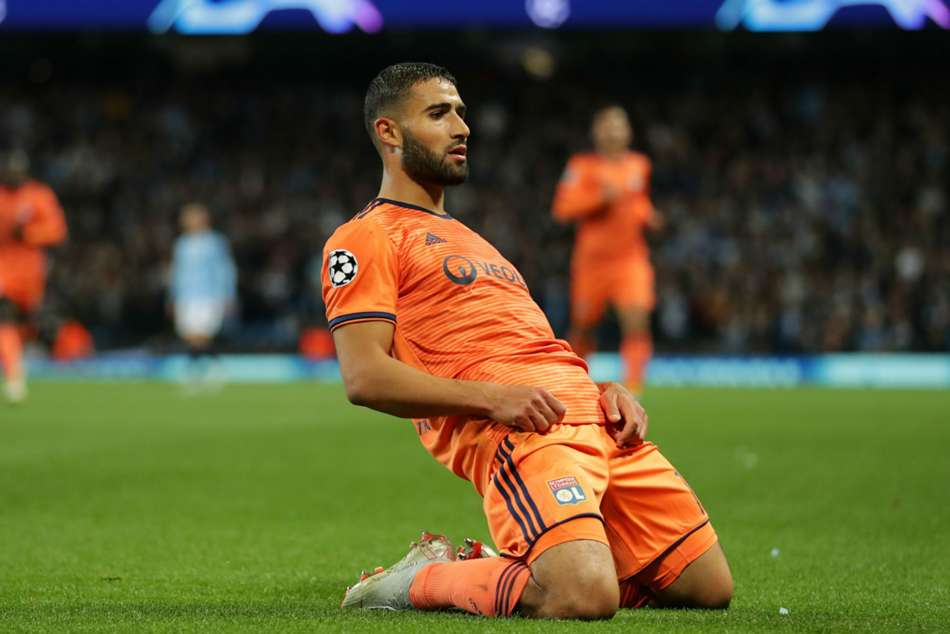 Champions League Lyon Stun Favourites Manchester City At Home